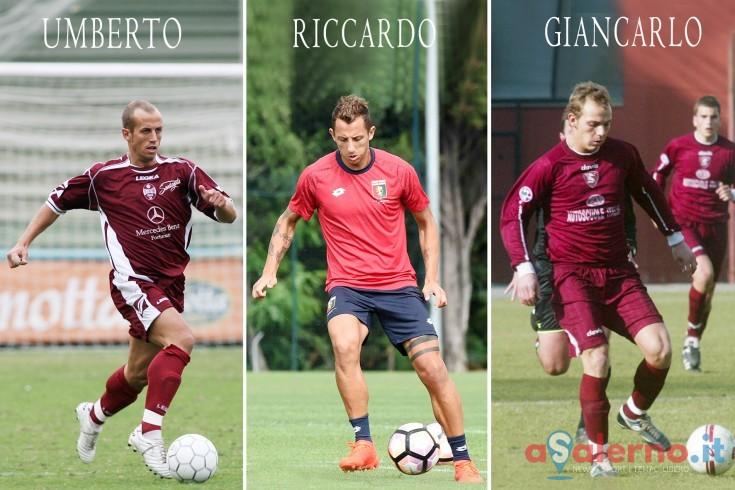 Non c'è due senza tre, dopo Umberto e Giancarlo anche Riccardo col granata - aSalerno.it