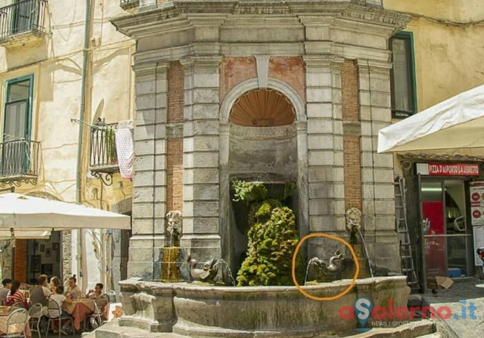 Problemi alla fontana del Vanvitelli, la denuncia di Salerno Capitale - aSalerno.it