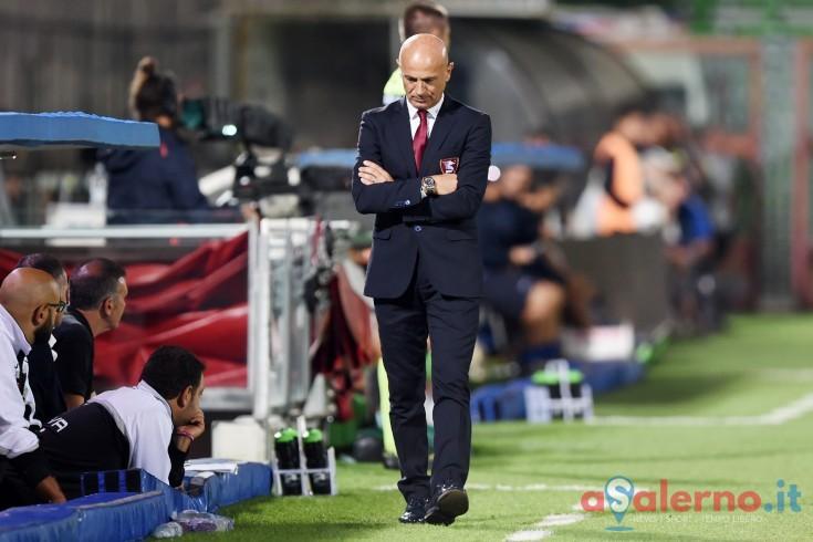 """Sannino:""""Sono fiero di questo punto e della grande fase difensiva"""" - aSalerno.it"""