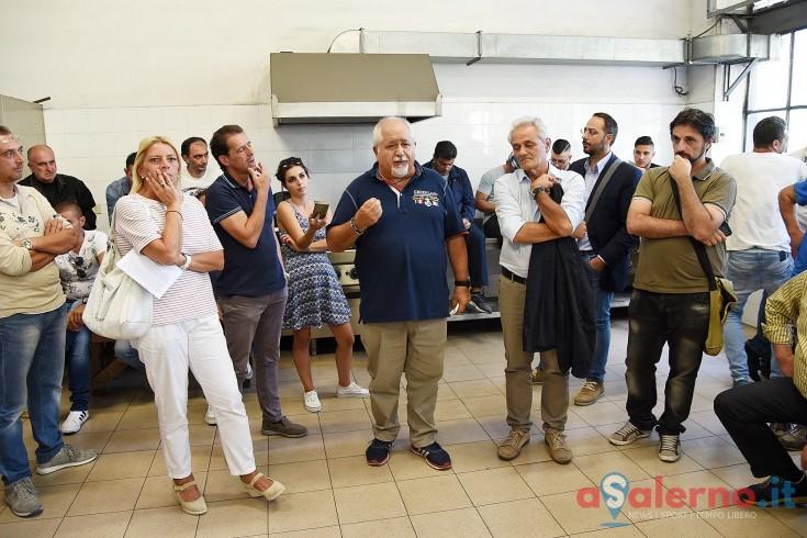 Il Segretario Fiom Marcelli a confronto con i dipendenti della Pisano - aSalerno.it