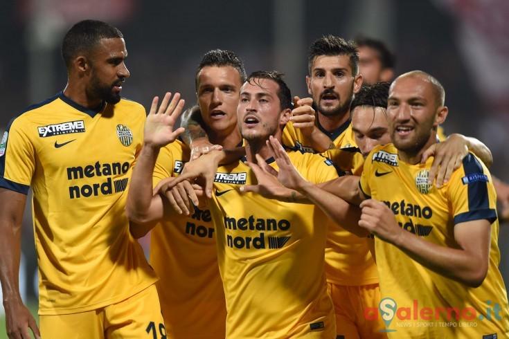 Verona in vantaggio a fine primo tempo: Ganz trafigge Terracciano - aSalerno.it
