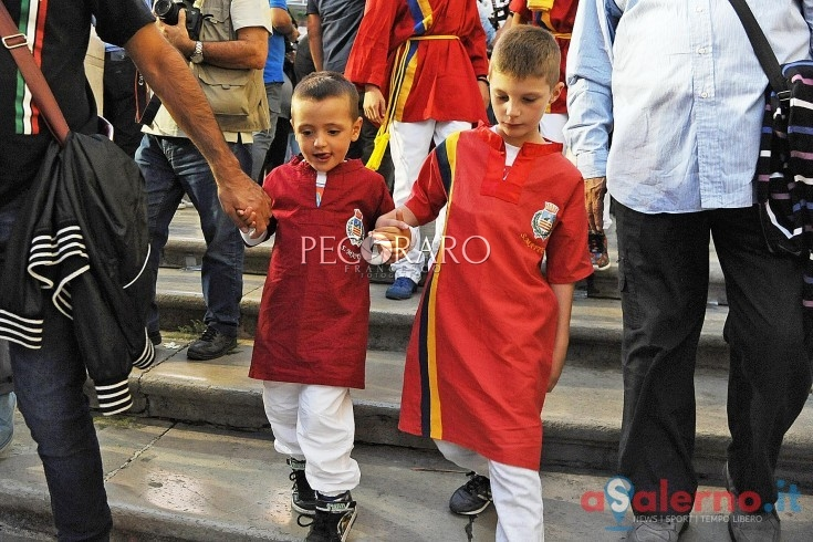Salernitana e San Matteo, i granata oggi alla messa in Cattedrale - aSalerno.it