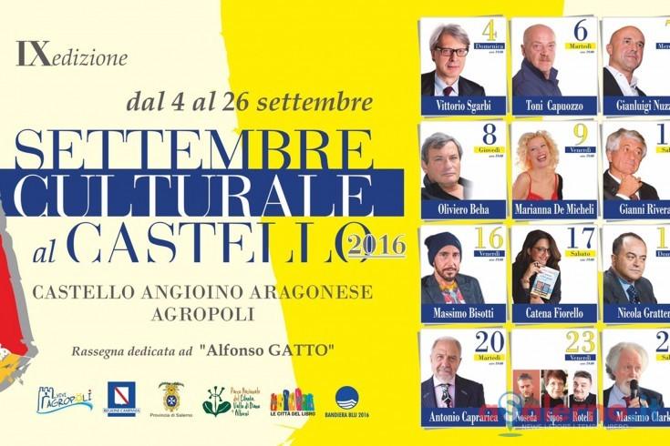 """Vittorio Sgarbi apre ad Agropoli la nona edizione  di """"Settembre Culturale"""" - aSalerno.it"""