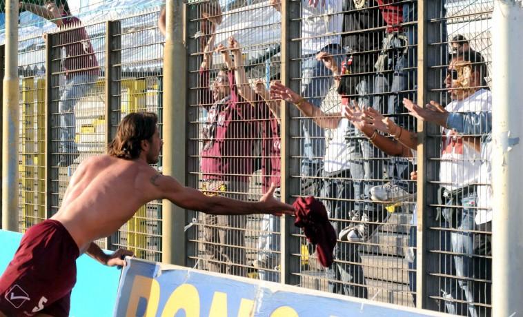 SAL - Spal-Salernitana Campionato Lega Pro nella foto peccarisi a fine gara