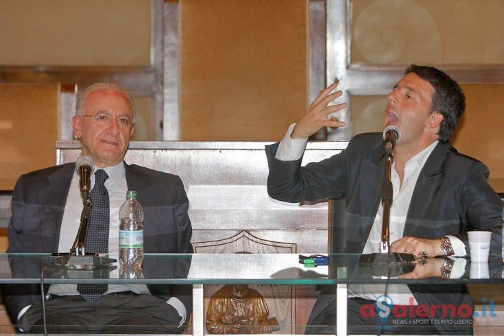 Renzi ritorna a Salerno, lunedì previsto un passaggio in città con De Luca - aSalerno.it