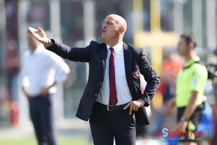 """Sannino sposa la difesa a tre: """"Così giochiamo meglio. Rosina? Mi ha stupito"""" - aSalerno.it"""