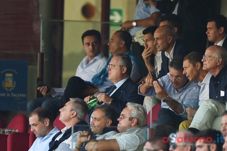 """Lotito, esordio all'Arechi fortunato: """"Finalmente abbiamo trovato il giusto assetto"""" - aSalerno.it"""
