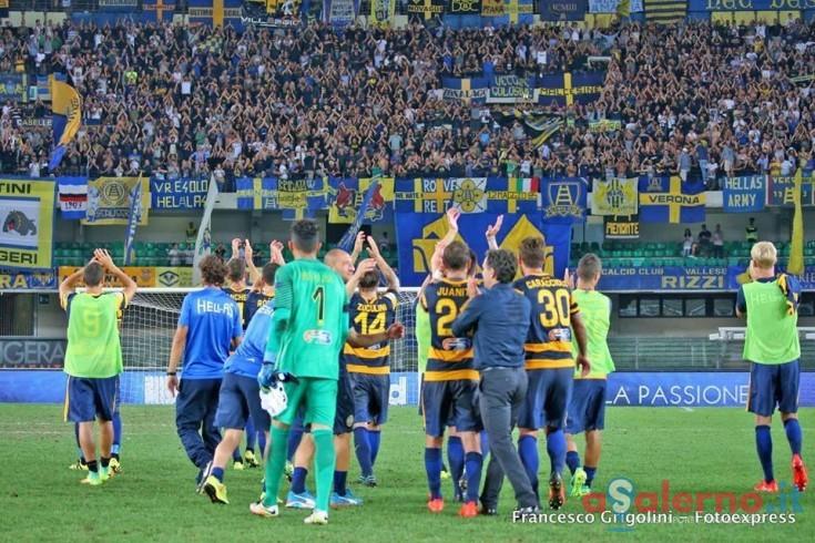 Hellas Verona, i convocati per Salerno: Troianiello c'è, Fares non ce la fa - aSalerno.it