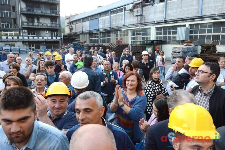 Riaprono le Fonderie Pisano, il Tribunale di Salerno dissequestra l'impianto - aSalerno.it