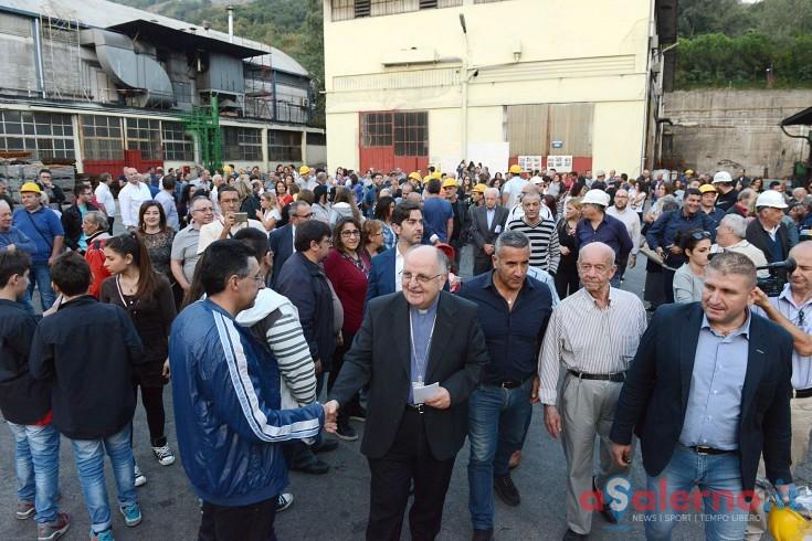 Fonderie Pisano, venerdì la Santa Messa celebrata dal Vescovo Moretti - aSalerno.it