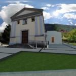nuova chiesa rendering
