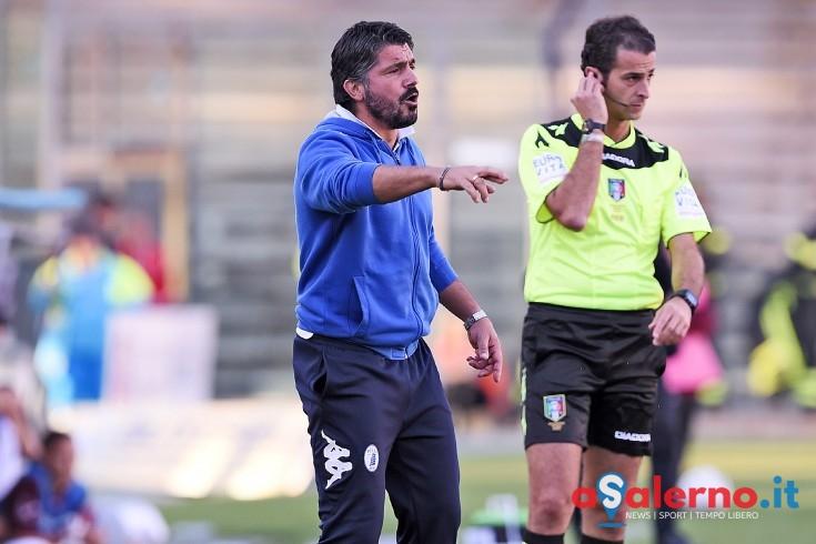 """Gattuso:""""Ringrazio la curva e la città. La spinta dell'Arechi era il mio doping"""" - aSalerno.it"""