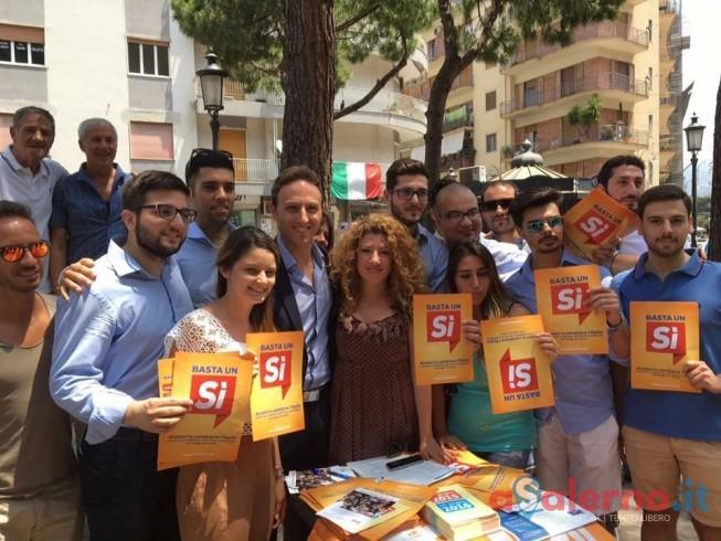 Partita la campagna per il Sì dei Giovani Democratici salernitani - aSalerno.it