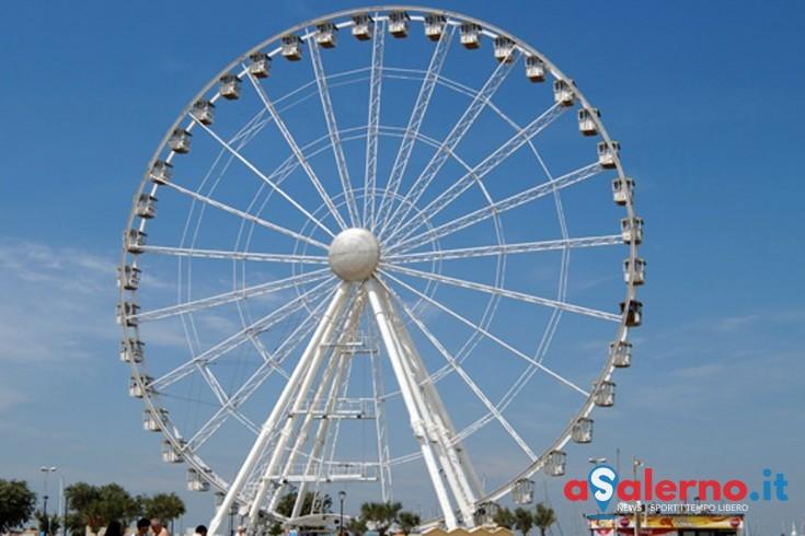 Luci d'Artista, sarà installata una ruota panoramica nel sottopiazza della Concordia - aSalerno.it