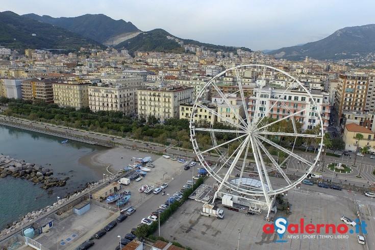 Non più sabato, posticipata di 24 ore l'inaugurazione della ruota panoramica - aSalerno.it