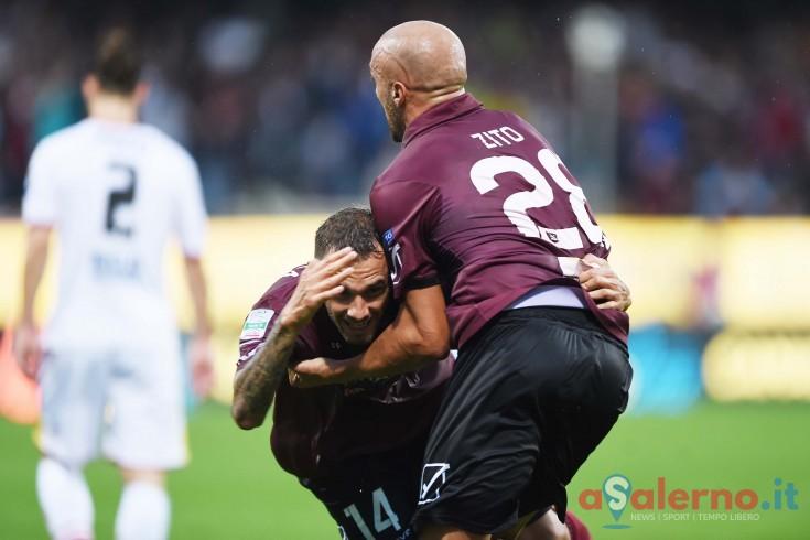 Della Rocca e Luiz Felipe schiariscono il pomeriggio dell'Arechi: 2-0 al primo tempo - aSalerno.it