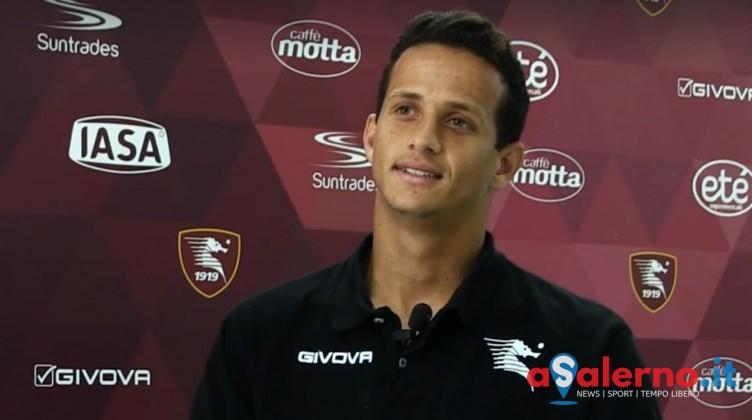 """Luiz Felipe: """"Sentire la gente di Salerno urlare il mio nome, non lo dimenticherò mai"""" - aSalerno.it"""