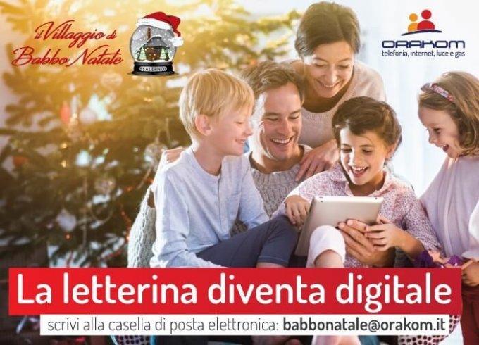 """Villaggio di Babbo Natale di Salerno: la """"letterina"""" sarà digitale - aSalerno.it"""