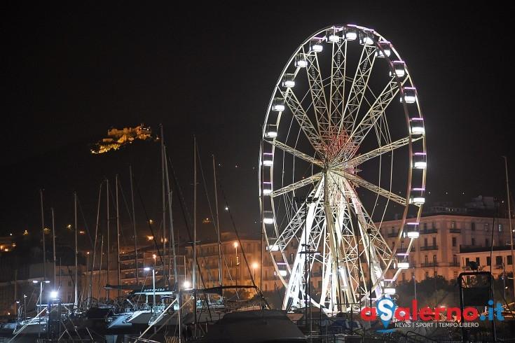 Domenica 29 gennaio l'ultimo giro.. sarà smontata la ruota panoramica - aSalerno.it