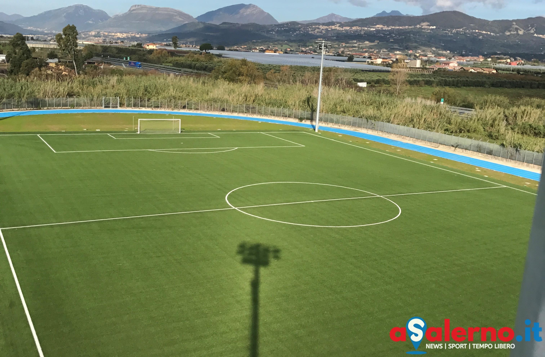 Bellizzi inaugurazione del campo sportivo nuova for Campo sportivo seminterrato