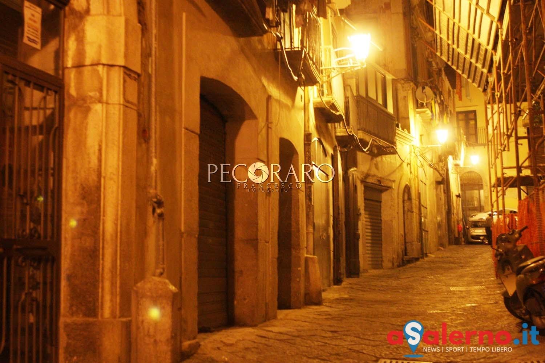 Sal - Centro storico, palazzo dove risiedeva Alfonso Gatto,vicolo delle calesse