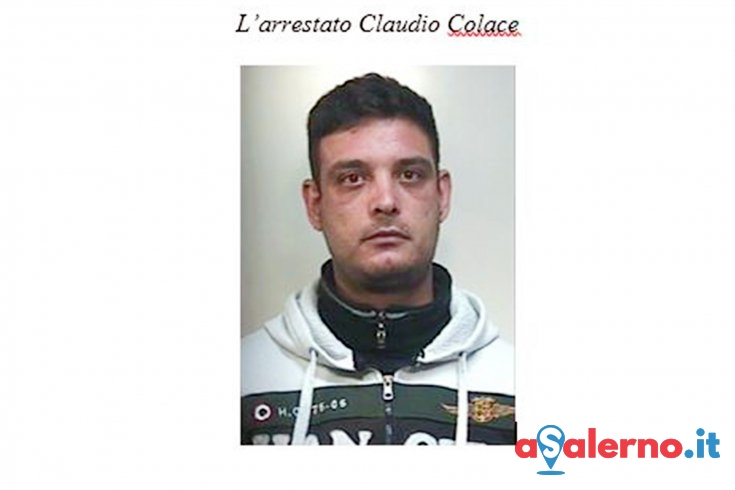 Spacciava droga in casa, arrestato Claudio Colace - aSalerno.it