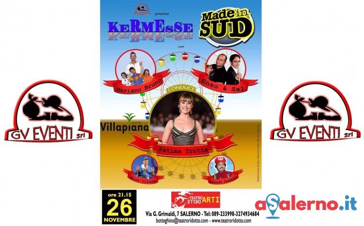 Arriva a Salerno la Kermesse di Made in Sud, sabato al Teatro delle Arti - aSalerno.it