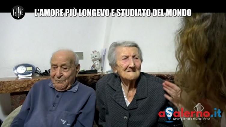 """VIDEO – Le Iene raccontano l'amore """"immortale"""" e il segreto dei centenari del Cilento - aSalerno.it"""