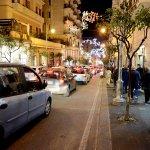 sal - 27 11 2016 Salerno Luci d'artista traffico foto Tanopress