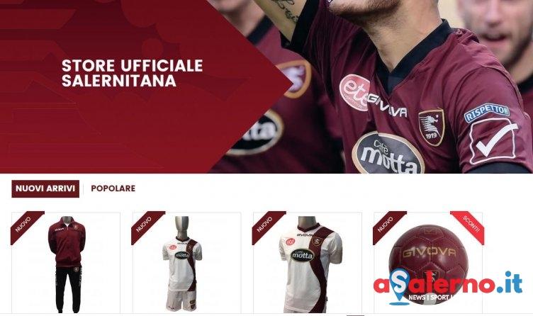 Apre lo store online della Salernitana: in vendita le maglie di questa stagione - aSalerno.it