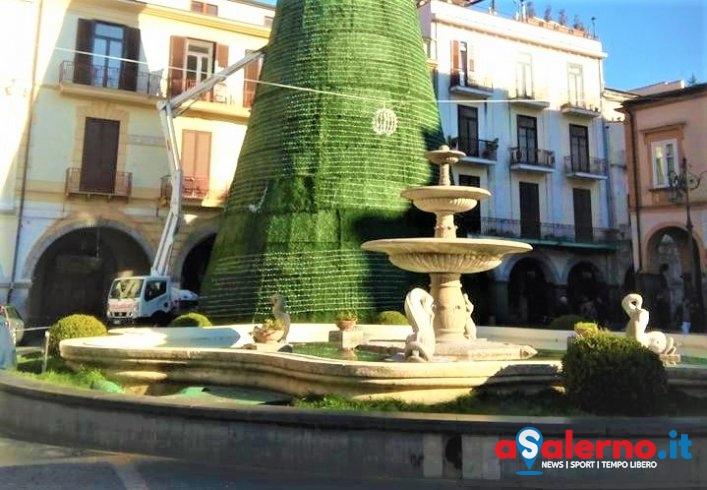 """Cava """"sfida"""" Salerno con l'albero di 25 metri - aSalerno.it"""
