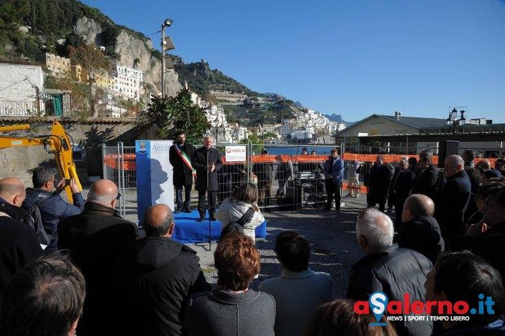 Depuratore di Amalfi, riprendono i lavori di ristrutturazione e completamento dell'impianto - aSalerno.it