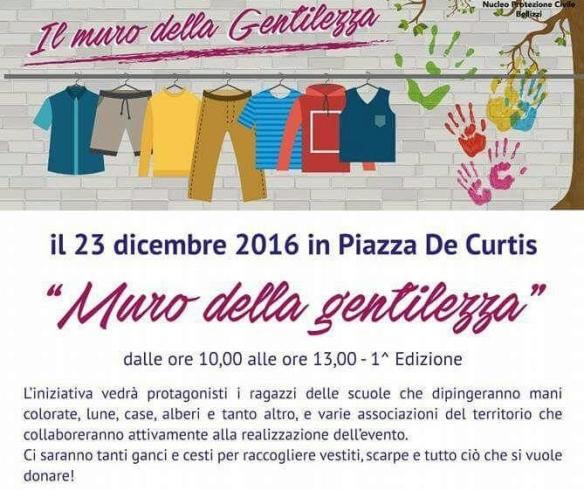 """Bellizzi, tutto pronto per la prima edizione del """"Muro della Gentilezza"""" - aSalerno.it"""