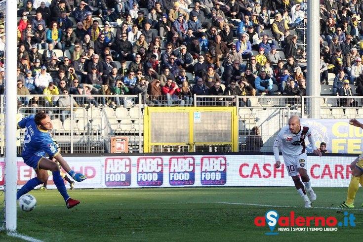 Soddimo risponde a Rosina:a Frosinone 1-1 al primo tempo - aSalerno.it