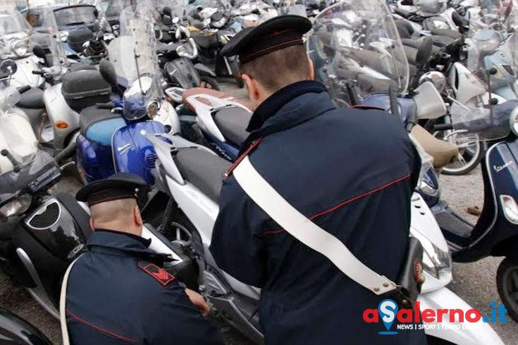 Salerno, tentano di rubare una moto da un garage: tre in manette - aSalerno.it