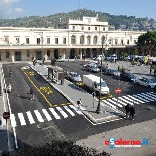 Salerno Piazza Vittorio Veneto.