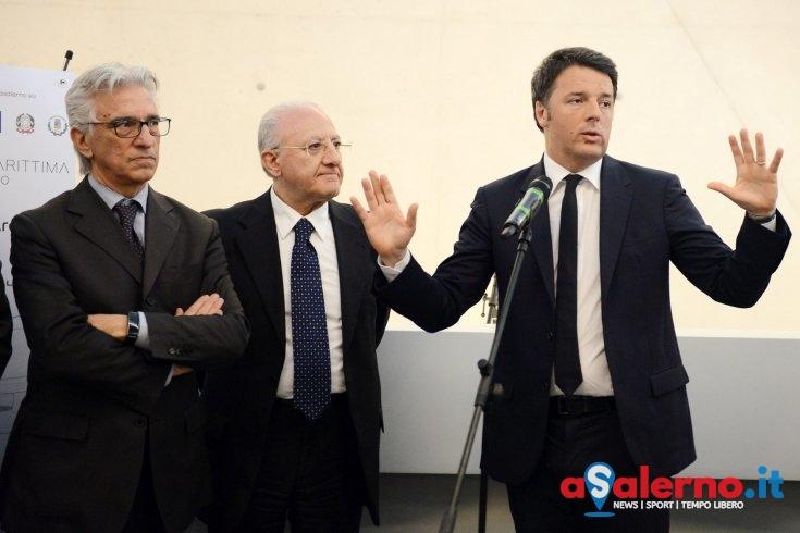 """Renzi candidato in Campania, il sindaco Napoli: """"E' un ottimo leader"""" - aSalerno.it"""