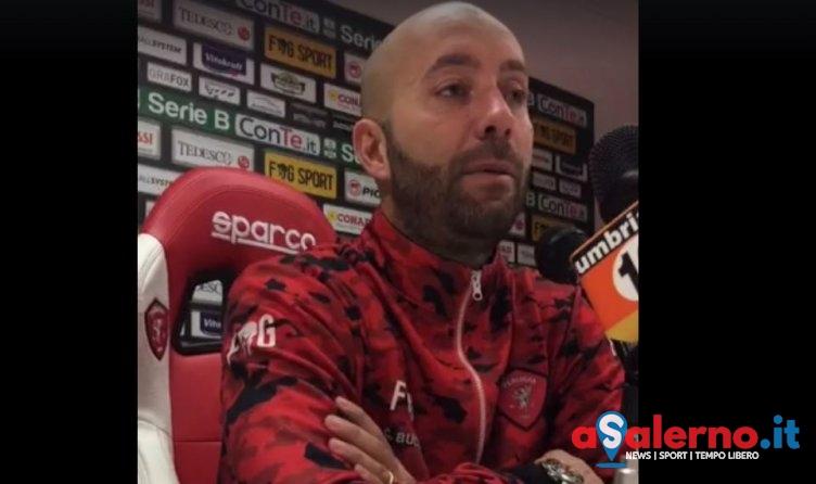 """Perugia in emergenza, Bucchi: """"Davvero ridotti all'osso, dovrò inventare una formazione"""" - aSalerno.it"""