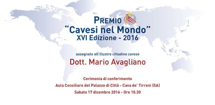 """Vince il premio """"Cavesi nel Mondo"""" il giornalista Mario Avagliano - aSalerno.it"""