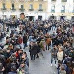 Sal -31 12 2016 Salerno happy hours in piazza Flavio Gioia foto Tanopress