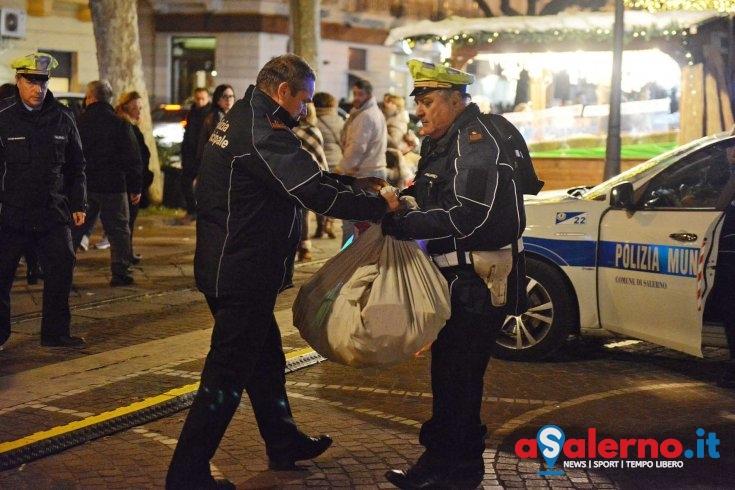 In beneficenza la merce sequestrata dalla Polizia Municipale - aSalerno.it