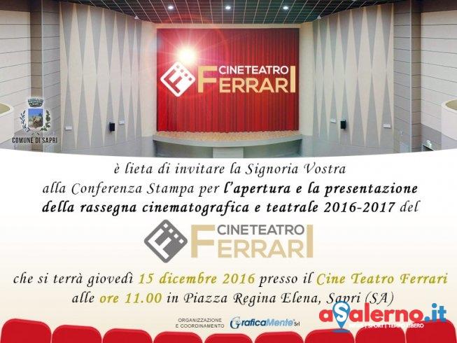Riapre al pubblico il Cineteatro Ferrari di Sapri - aSalerno.it