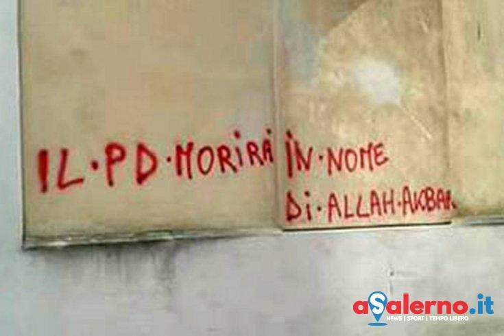 Scriveva sui muri frasi contro politici, denunciata 43enne di Sarno - aSalerno.it