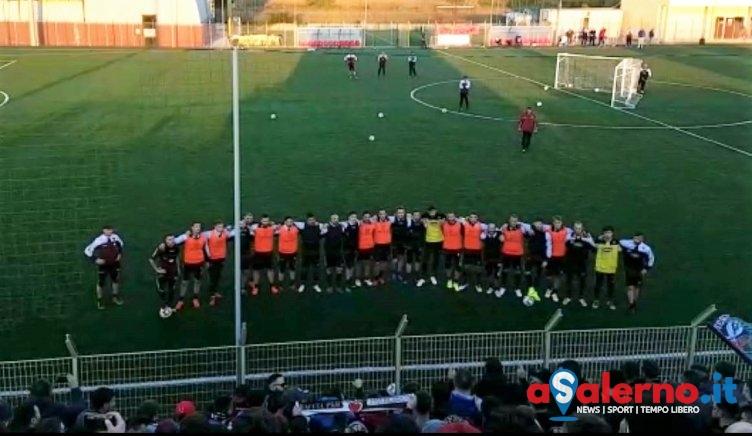 """Rifinitura al Volpe davanti a 350 tifosi: """"Domani fuori gli attributi"""" - aSalerno.it"""