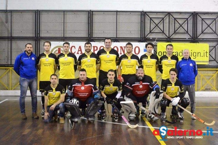 """Inizia il Campionato Serie """"B"""" di Hockey su Pista per la CH Roller Salerno - aSalerno.it"""
