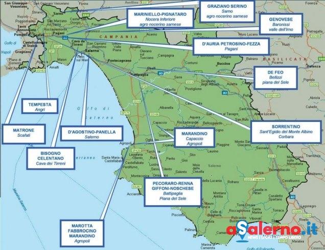 I clan, le zone, i legami, ecco la mappa della criminalità nella provincia di Salerno - aSalerno.it