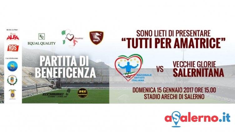"""""""Tutti per Amatrice"""" all'Arechi, ecco i punti vendita per la gara del 15 gennaio - aSalerno.it"""