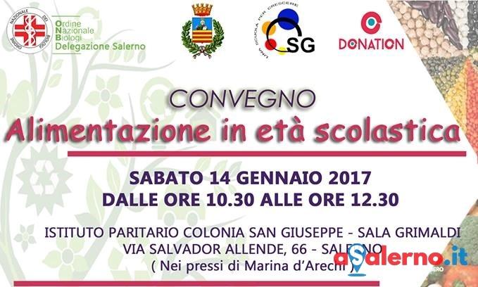A Salerno un convegno sull'alimentazione in età scolastica - aSalerno.it