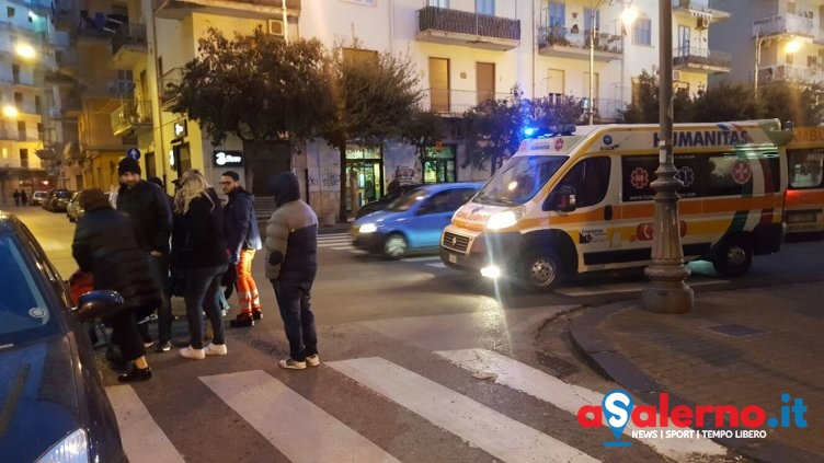 Incidente ieri sera a Pastena, scontro tra auto e motorino - aSalerno.it