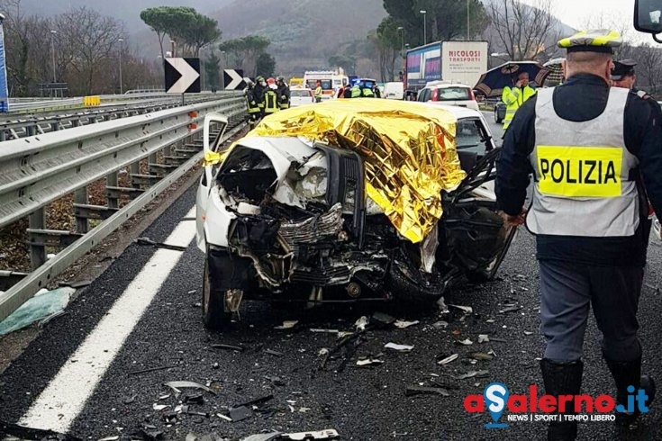 Grave incidente in autostrada A3, due feriti - aSalerno.it